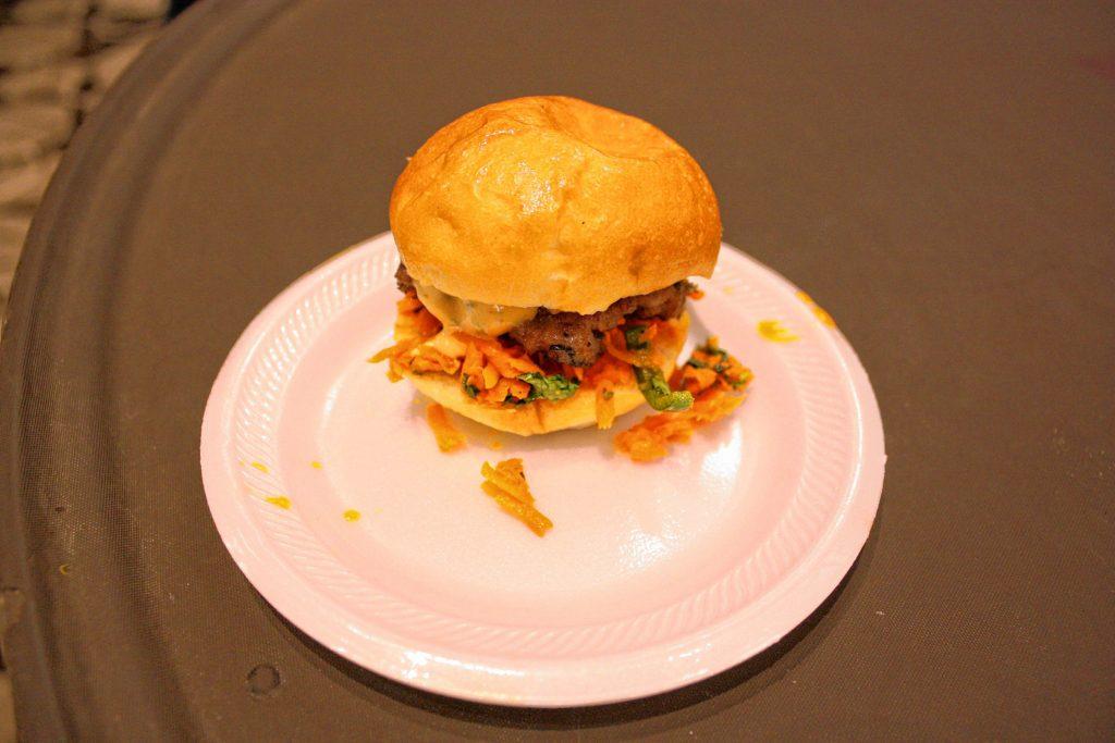 A banh mi burger from Lakehouse Tavern. JON BODELL / Insider staff