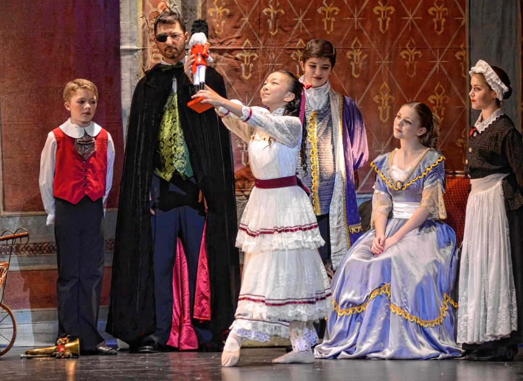Follow young Clara and her Nutcracker on their journey through the snow as Tchaikovsky's cherished score is played by a live orchestra and choreography beautifully danced by students and alumni of Eastern Ballet Institute of Concord.
