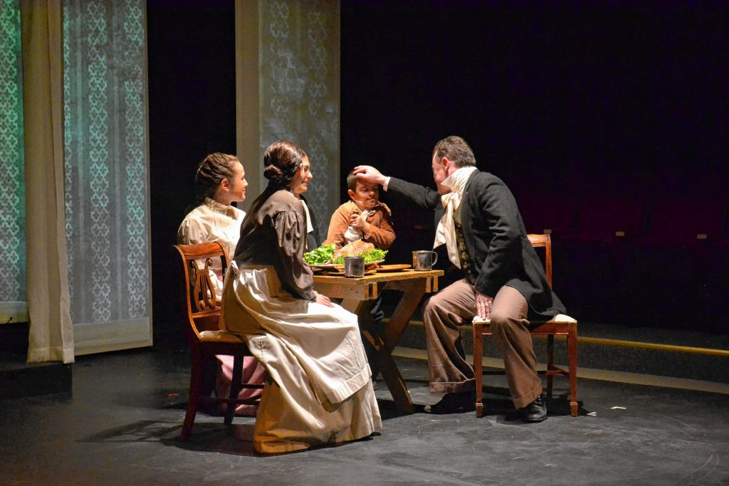 An original adaptation of Dickens' A Christmas Carol will be staged at the Hatbox Theatre from Dec. 6 to 15.