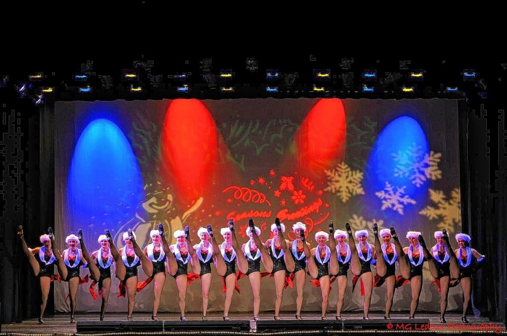 Concord Dance Academy's annual Holiday Spectacular will take over the Audi stage on Saturday and Sunday. Courtesy