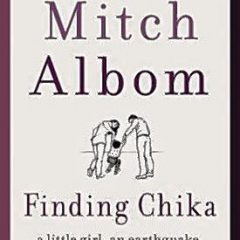 Author Mitch Albom to present new book 'Finding Chika' at Capitol Center for the Arts