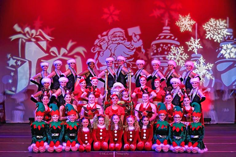Concord Dance Academy will perform its annual Holiday Spectacular at Concord City Auditorium this weekend, featuring more than 300 performers. Courtesy of Concord Dance Academy