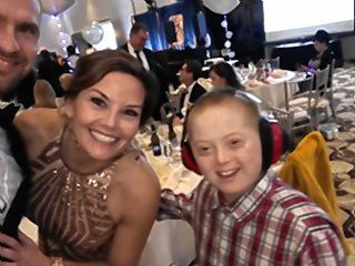 Crystal Reynolds had a blast at the Best Buddies Gala recently. She was also reminded how a smile and some kind words can go a long way.