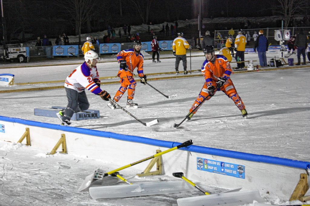 Lots of good, clean -- and cold -- fun was had on the ice at White Park during the 1883 Black Ice Pond Hockey Championship on Saturday.