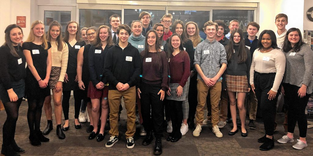 The Greater Concord Chamber of Commerce recently welcomed 25 students from nine Capital region schools selected to take part in the Chamber's highly competitive 2020 Capital Area Student Leadership program, the state's only regional student leadership and civics course offered annually by the Chamber for high school sophomores in the Greater Concord area.
