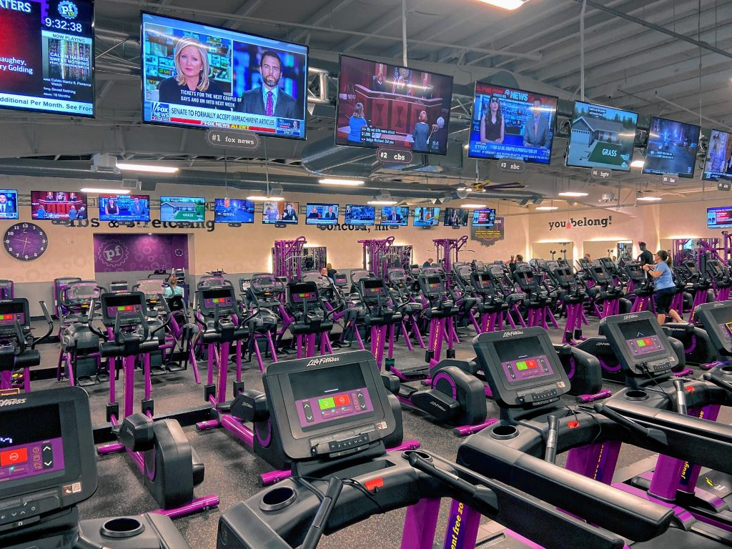 The new Planet Fitness is now complete with extra parking and access back to the neighboring stores on Thursday, January 16, 2020. GEOFF FORESTER
