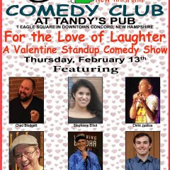 Stand-up show ready for Valentine's Day