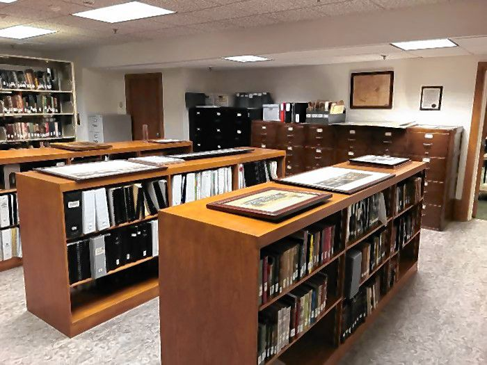 New flooring was installed in the Concord Public Library's archives room.