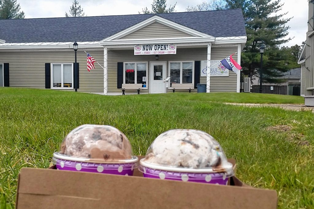 Ice creams to-go from True Confections on Loudon Road in Concord