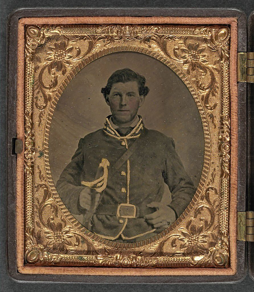 A confederate soldier Library of Congress