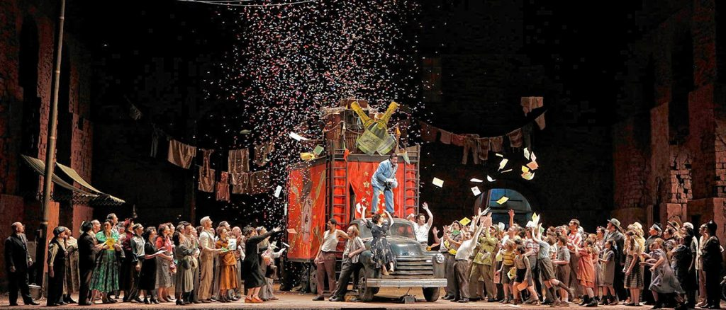 Leoncavallo's Pagliacci will be streamed as part of the Met's free weekly offerings.
