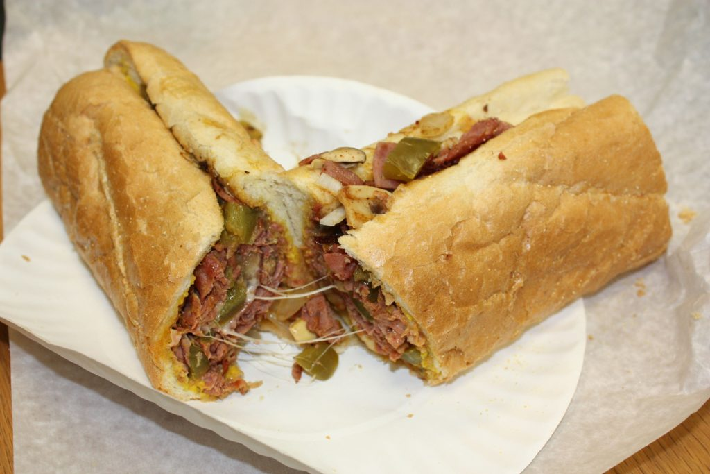 A pastrami bomb sub from Chief's Place in Penacook. Look at all that gooey, melty cheese. THE FOOD SNOB / Insider staff