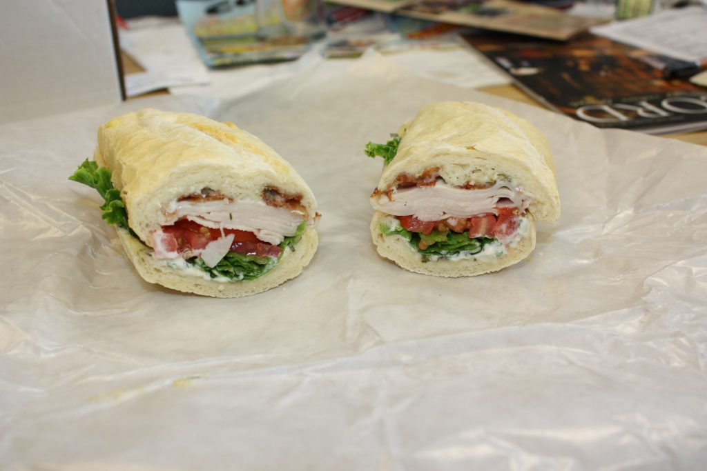 We tried a Turkey BLT from In A Pinch Cafe, conveniently located right across from Concord High School. THE FOOD SNOB / Insider staff