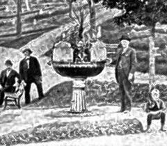 1892: Drinking fountain donated to cemetery