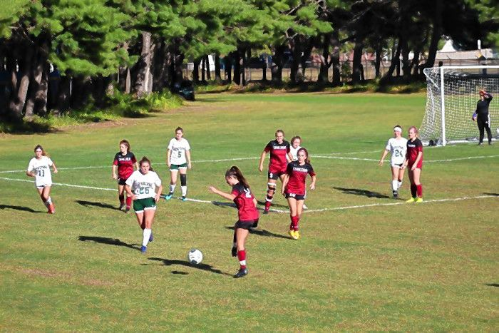 Girls play fall soccer through the Concord Dept. of Parks and Recreation.