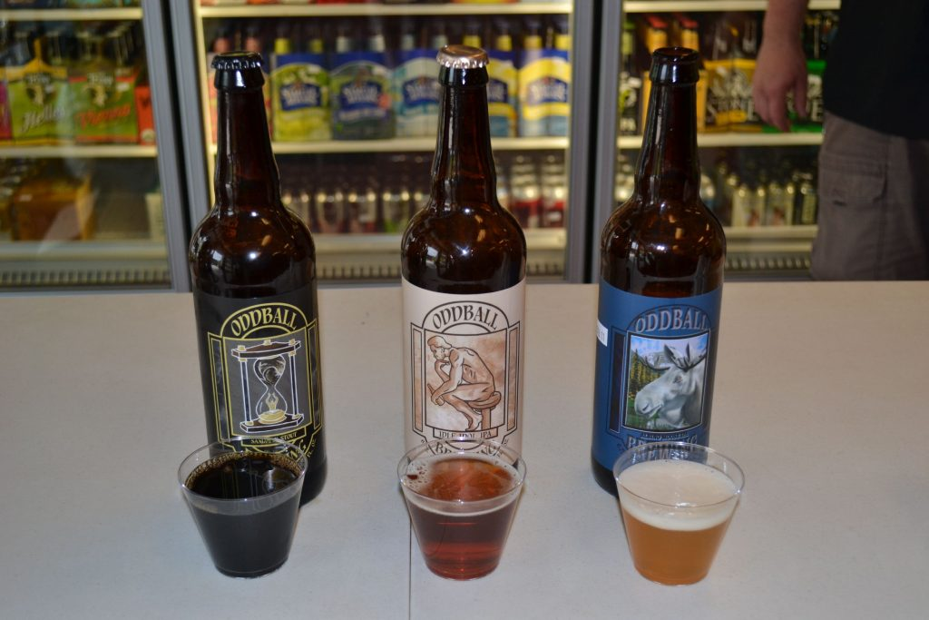We stopped in to the Oddball Brewing Company tasting at Barb's Beer Emporium last Thursday. Tim Goodwin