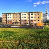 New housing complex, arena reopening