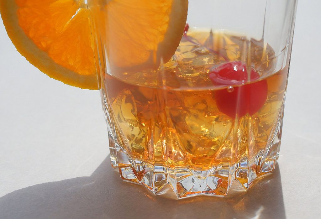 A New Old Fashioned is one of our signature cocktails, photographed on Wednesday, Aug. 7, 2019, at the St. Louis Post-Dispatch. (J.B. Forbes/St. Louis Post-Dispatch/TNS) J.B. Forbes