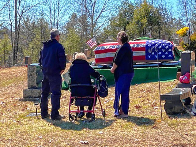 Anthony Pinto died on March 21 and was buried on March 27. Due to the coronavirus, his family had little time to say goodbye and a sparse funeral service.