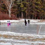 City ponds open for skating
