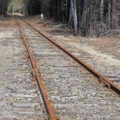 Poem: Rusted Railroad Tracks