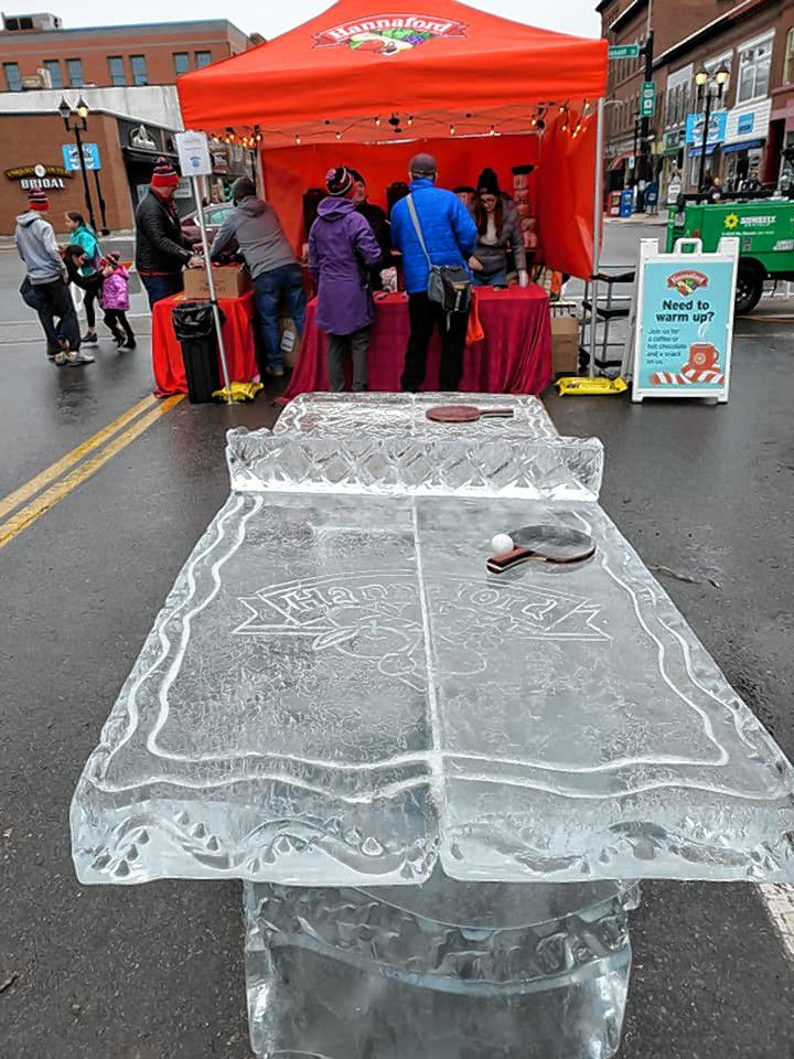Ice sculptures from the previous years of Winter Fest, which will return to downtown Concord on Jan. 29 and 20.