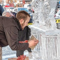Icy celebration returns to downtown