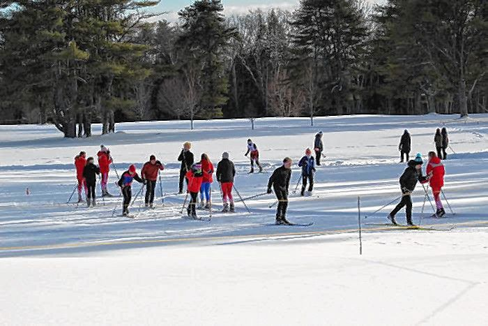 On Feb. 10, Beaver Meadow hosted a Concord High Ski meet and on Feb. 11, a Rundlett Middle School Ski meet. Both races attracted several other schools from around the state.