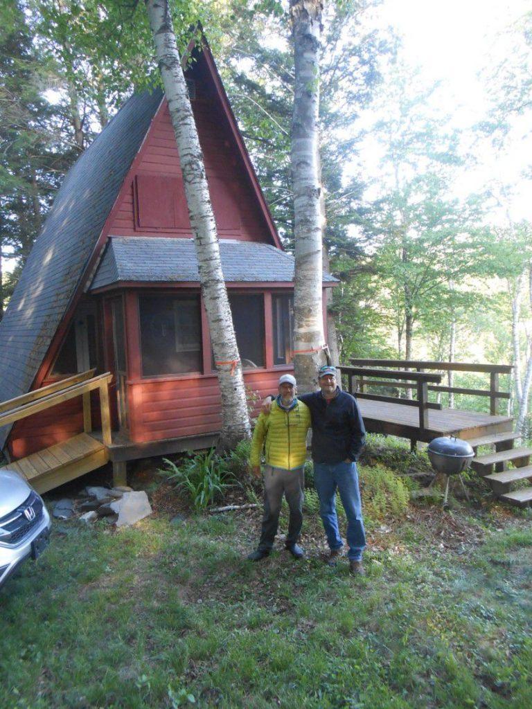 Michael Tougias' cabin