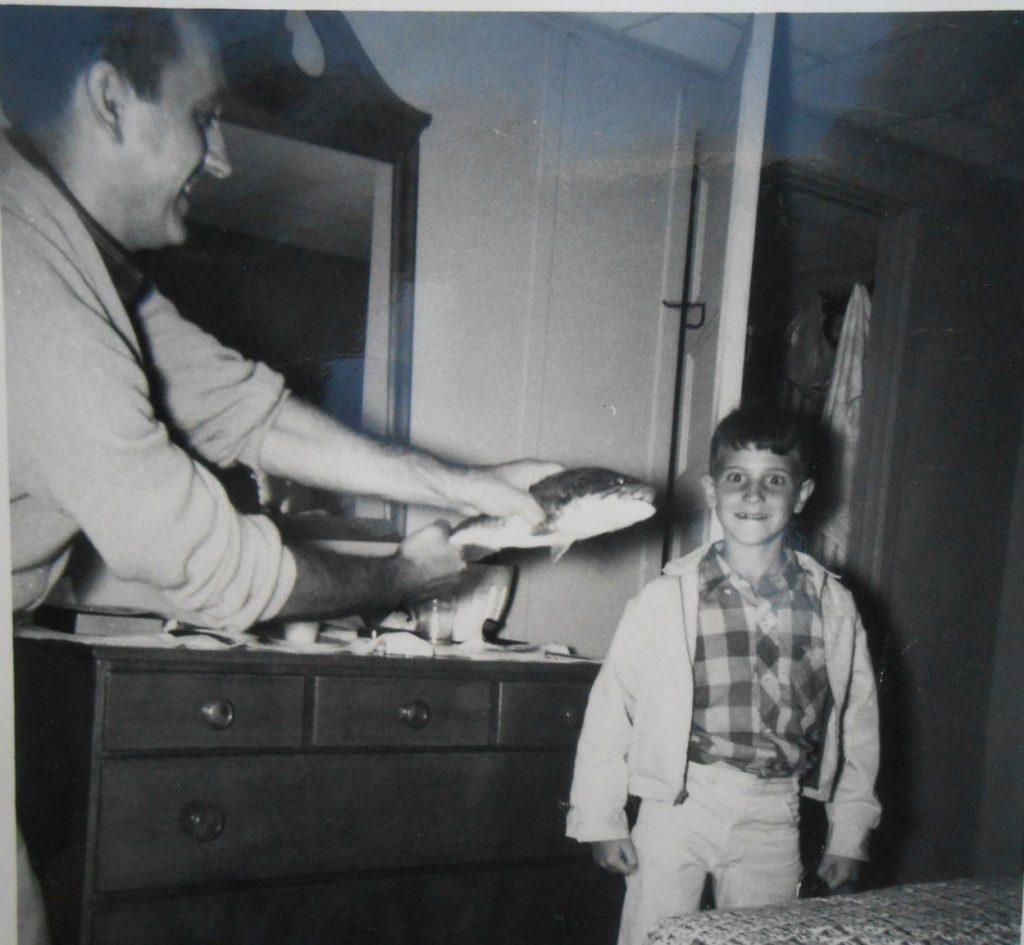 Michael Tougias and his father
