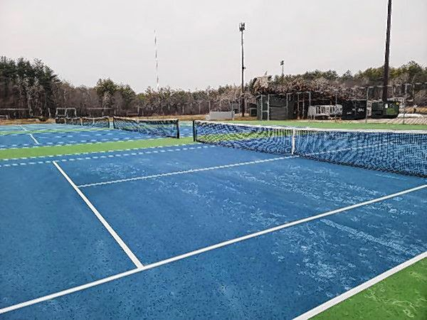 Tennis courts at Memorial Field