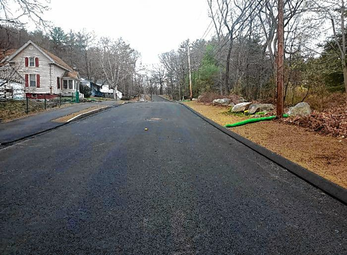 Paving continues in the Penacook Street area.