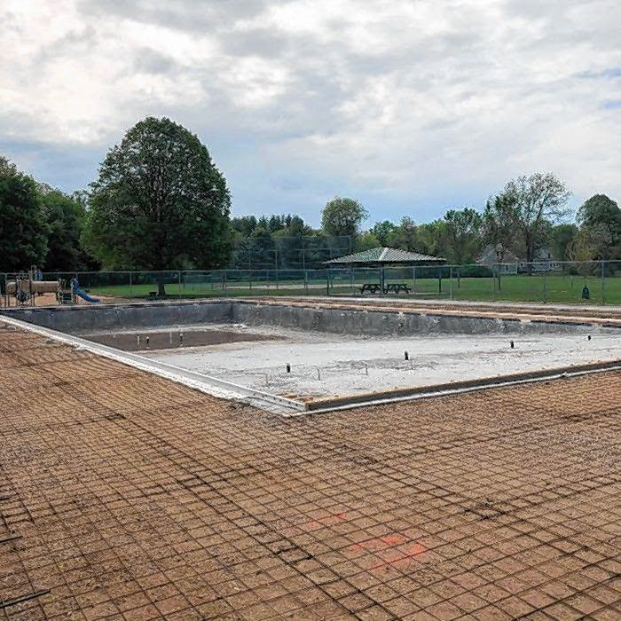 The city has been working with the H.L. Turner Group and South Shore Gunite Pools to fully replace the existing pool structure at Merrill Park.