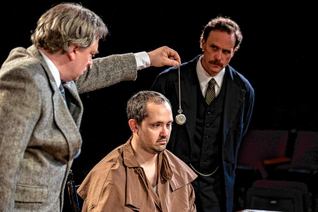 """See """"Holmes and Watson"""" at the Hatbox Theatre this month."""