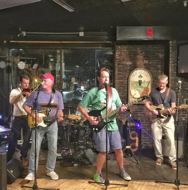 Nick's other group will close the Live Music on the Lawn series on Wednesday.  The show will take place on Prince Street right next to the Concord Public Library.
