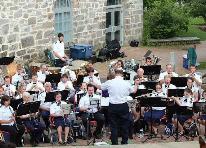 The Nevers Band will play at Kiwanis Park tonight and six more shows as part of the Concord Parks and Rec Summer Concert Series.