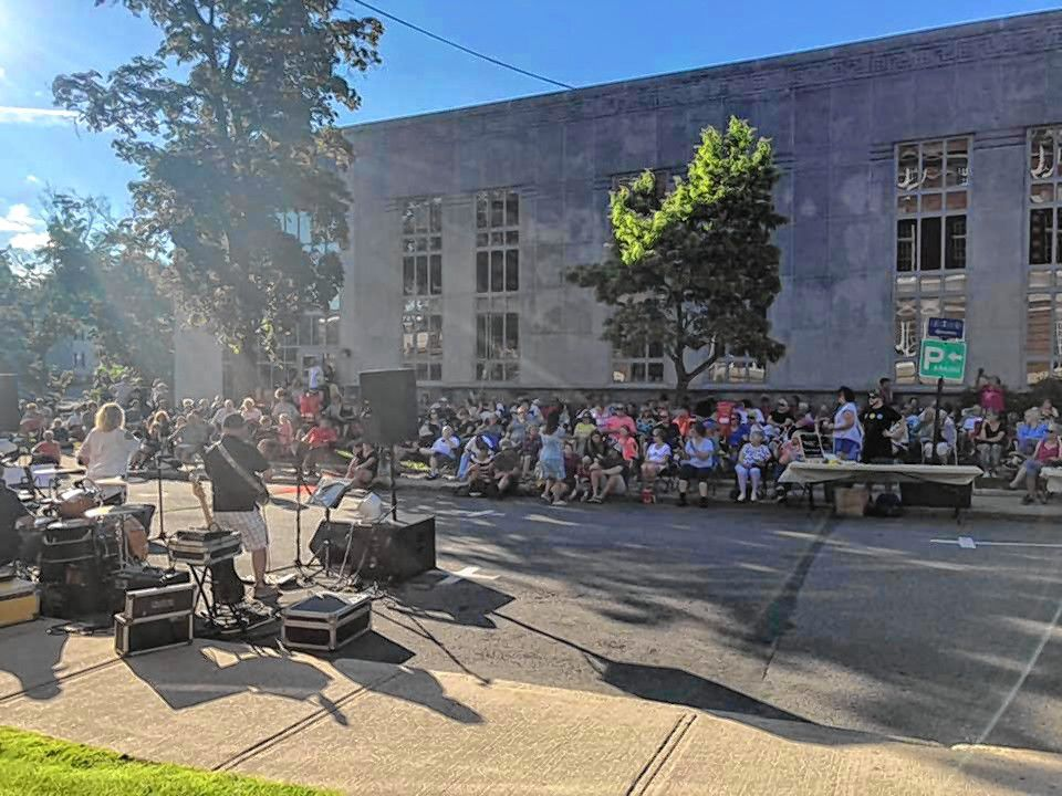 Concord Public Library's Live Music with the Library concert series returned last week.