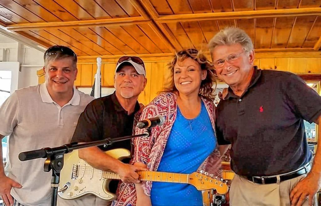 Club Soda Band performs outdoors this summer.